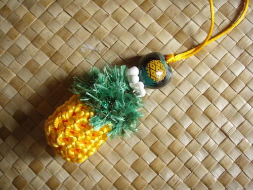 編みパイナップル
